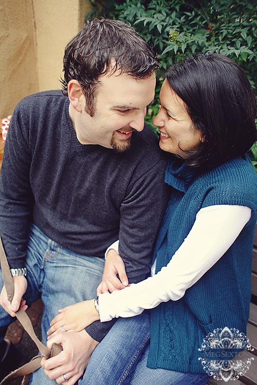 danville engagement photos