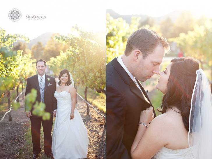 Wedding photos at Wente