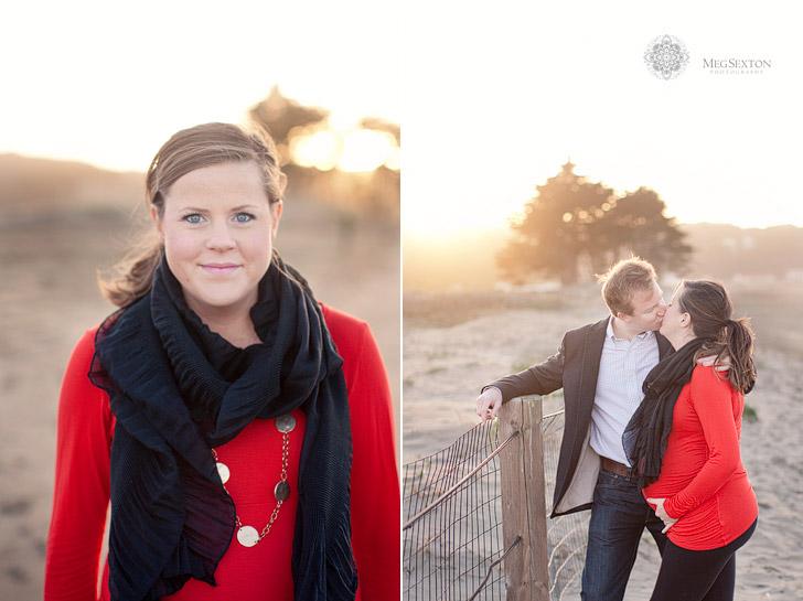 sunset maternity photos
